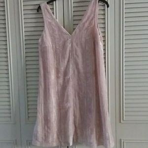 LOFT Crushed Velvet Dress - NWT
